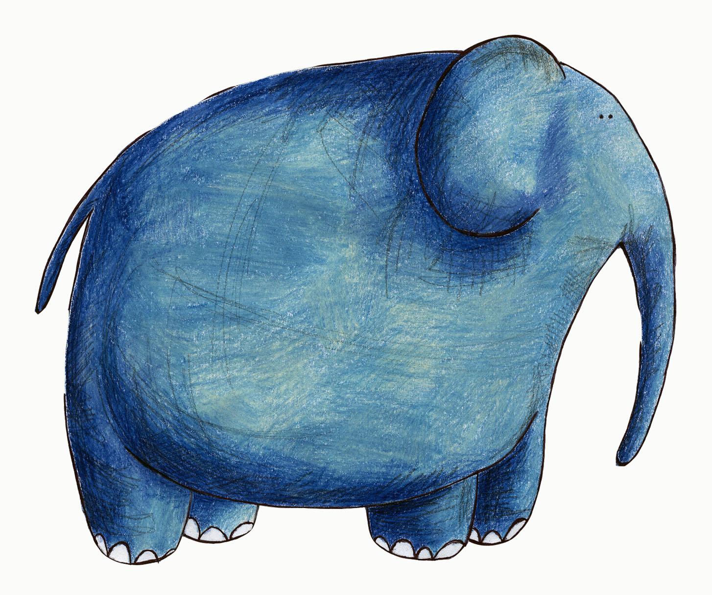 Смешные рисунки слонов