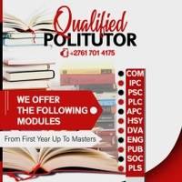 Politutor  - University of South Africa (Unisa)