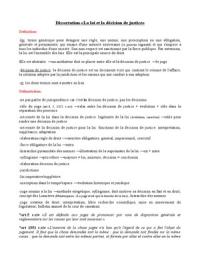 Exemple de dissertation juridique