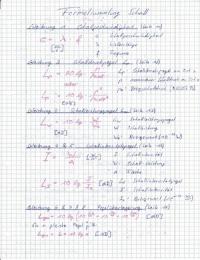 ZUSAMMENFASSUNG: Bauphysik - Schallschutz Formelsammlung
