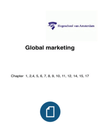 international marketing summary of ch 5 World of marketing - chapter 5 self-quiz multiple choice identify the letter of the choice that best completes the statement or answers the question.