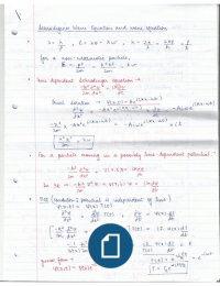 Study notes for Physics at The University of Manchester - Stuvia