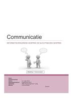 OVERIG: NCOI Moduleopdracht Communicatie -8,0-
