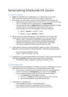 Samenvatting Nova Scheikunde VWO - H1 t/m H7 - Stuvia