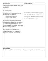 World History chapter 3 notes - Stuvia