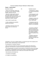 SAMENVATTING: Summary Qualitative Research Methods for Media Studies chapter 1 - 4