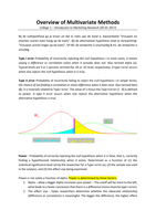 SAMENVATTING: INTRODUCTION TO RESEARCH IN MARKETING SPRING - BEST SUMMARY LECTURES + BOOK