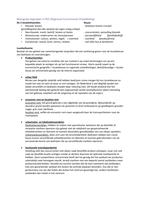 SAMENVATTING: Blok 7 - Begrippen regionale economische ontwikkelingen (Reo)