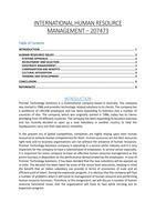 Study notes for HRM at Punjabi univeristy - Stuvia