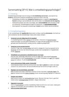 SAMENVATTING: Praktijkgerichte Ontwikkelingspsychologie