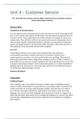 ESSAY: Unit 4 - Customer Service in Travel and Tourism P3