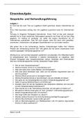 Prüfung: Einsendeaufgabe Gesprächs und Verhandlungsführung