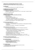 ZUSAMMENFASSUNG: Verwaltungsprozessrecht