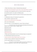 Exam: MGT 521 Final Exam 2018