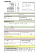 ZUSAMMENFASSUNG: Formelsammlung Bauphysik