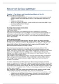 SAMENVATTING: Summary for European Law and Politics
