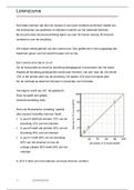 SAMENVATTING: Lorenzcurve + opdrachten