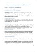 SUMMARY: Samenvatting h2 t/m h6 en h8 (tussentoets 1) 2017-2018