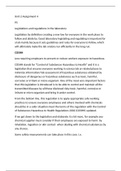 ESSAY: BTEC LEVEL 3 APPLIED SCIENCE - UNIT 2 ASSIGNMENT 4 (P5)