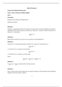 LECTURE NOTES: Calculus 3