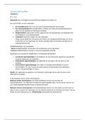 SAMENVATTING: Organisatiekunde samenvatting H1 H2 H3 + H8 en H9