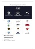 OVERIG: Beursgenoteerde analyse PSA Groupe