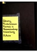 ZUSAMMENFASSUNG: Zusammenfassung Mikroöknomie (Formelsammlung, gelöste Übungen/Probeklausur, Zusammenhangssammlung)