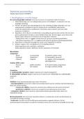 SAMENVATTING: Statistiek: overzichtelijke samenvatting incl tabel met SPSS toetsen