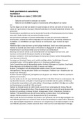 SAMENVATTING: Geschiedenis en samenleving H4