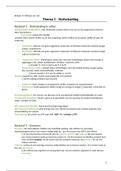SAMENVATTING: Samenvatting Biologie voor jou 5 Vwo - Thema 1, Stofwisseling