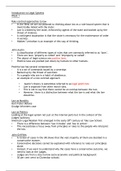 LECTURE NOTES: LL109 Introduction to Legal Systems Lecture Notes