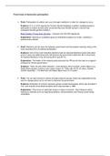 ESSAY: Three forms of democratic participation - 10 marker.