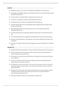 RESUME: Key take-aways managerial economics