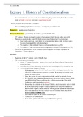 Study notes for international and european law at RuG - Stuvia