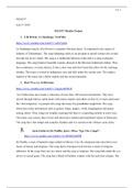 Study notes for MUS337 at The University of Arizona - Stuvia