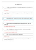 Study notes for NSG6435 Week 5 Assignment 4 Midterm Exam