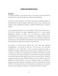 CASO: Ejercicios PROPUESTOS de SEGMENTACIÓN (Modelo de Belson) - Dirección Comercial - Marketing